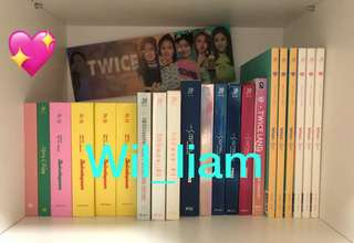 PRE ORDER any Twice albums/monographs