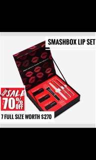 Smashbox survival lip set bnib
