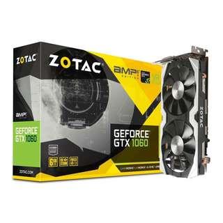 Zotac GTX 1060 6GB AMP