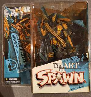 RARE COLLECTOR'S CLUB SPAWN ISSUE 7 COVER ART