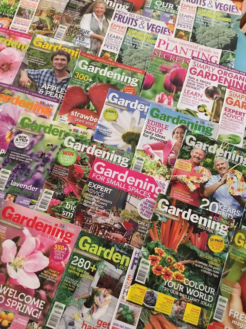 40 Past Issues Of Abc Gardening Australia Magazines Books