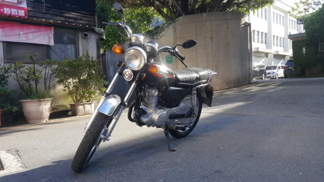 三陽 大鼓式刹車 野狼125cc