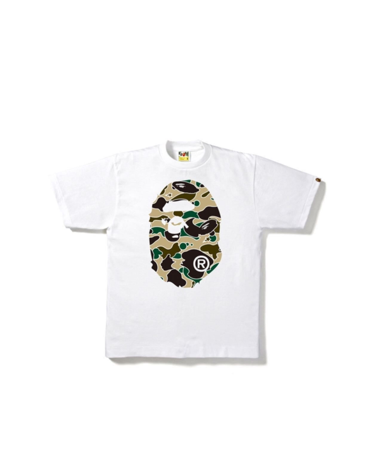 57cde96c A Bathing Ape (Sta Camo Tee), Men's Fashion, Clothes, Tops on Carousell