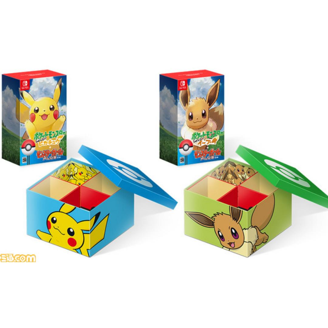 Amazon Bonus Tokuten Nintendo Switch Game Pokemon Let S Go