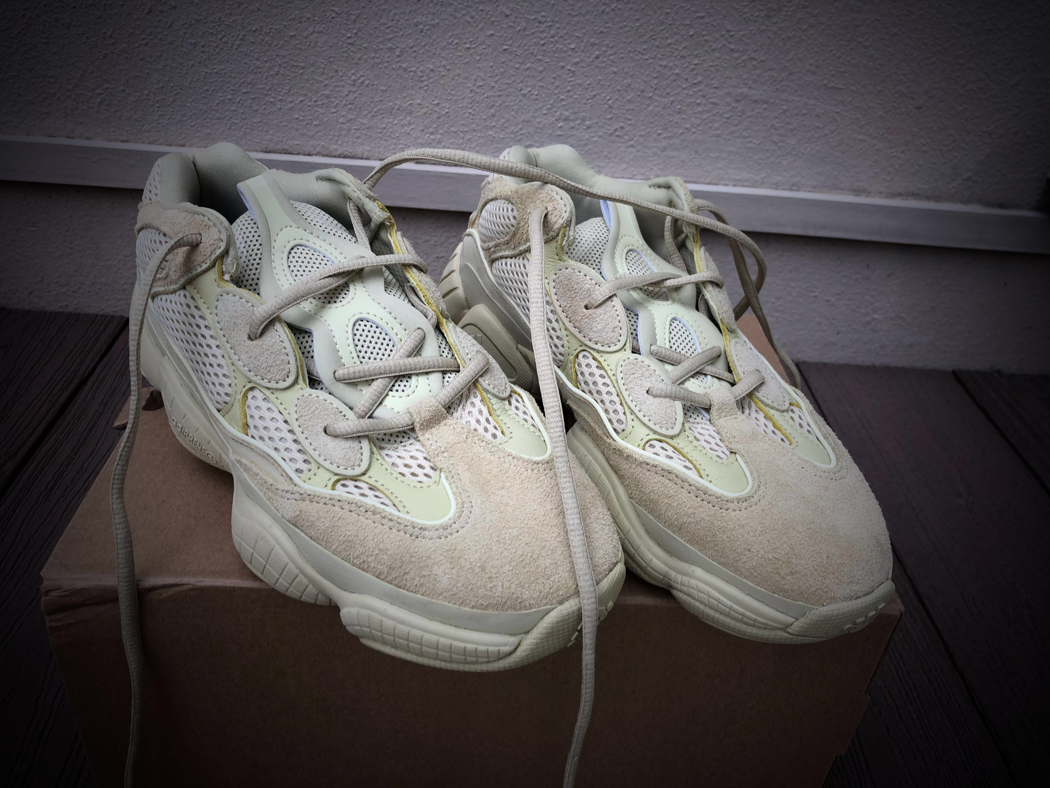 5d33b5278a7 Authentic Adidas Yeezy 500 Supermoon Yellow US 7