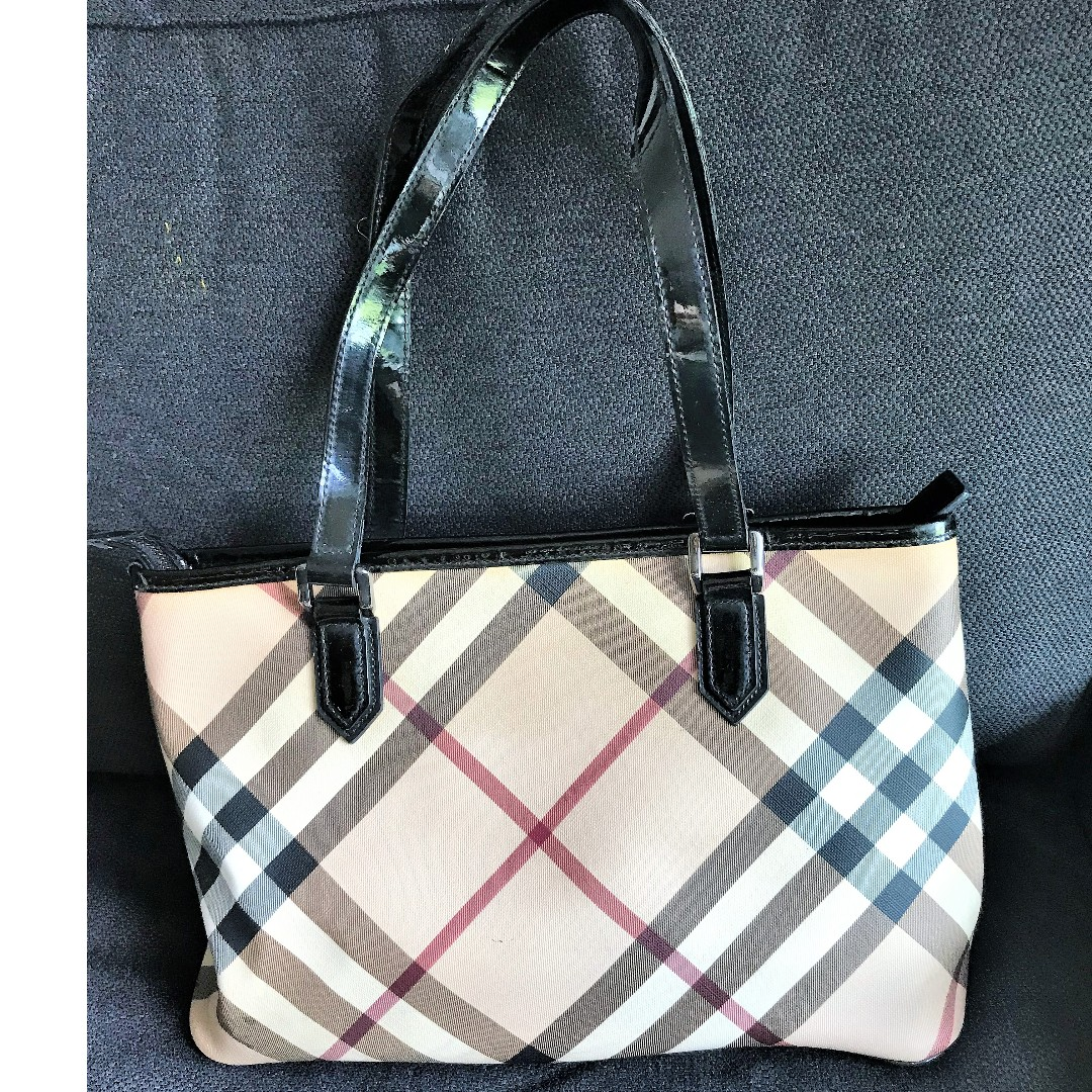 2bd9dce778e2 Authentic Burberry Tote Bag