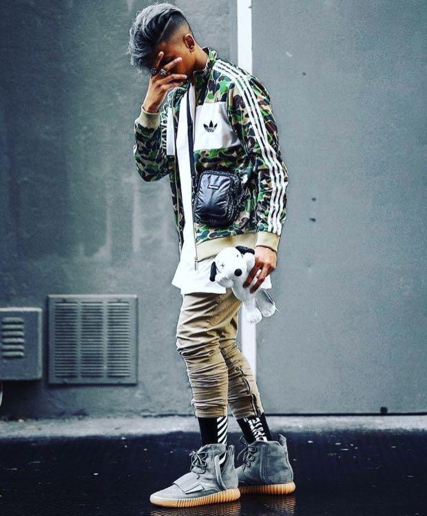 6f5e0725 Bape Adidas ABC Camo Track Jacket Green, Men's Fashion, Clothes ...