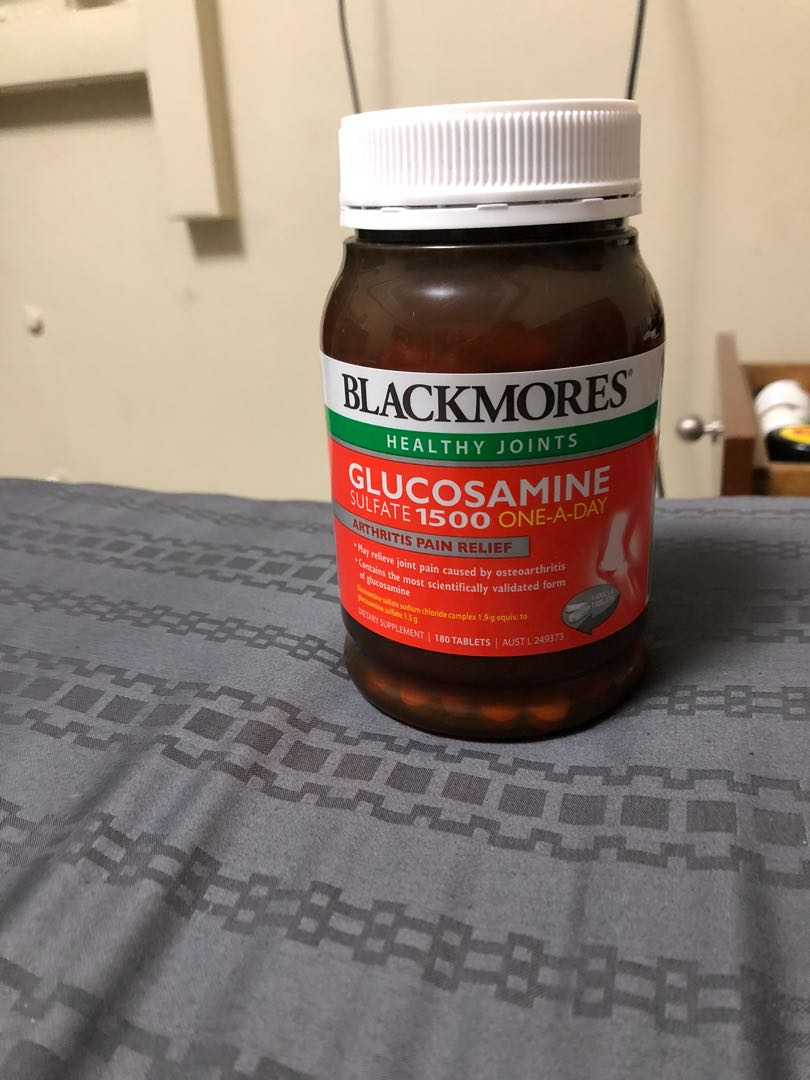 Blackmore Glucosamine Sulfate 1500 Everything Else On Carousell Blackmores Nutrimulti 100 Photo