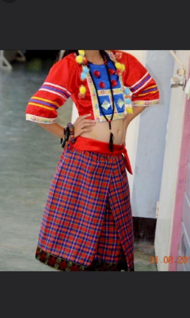 Costume For Manobo & SCHOOL Children Of Sabayan Elementary
