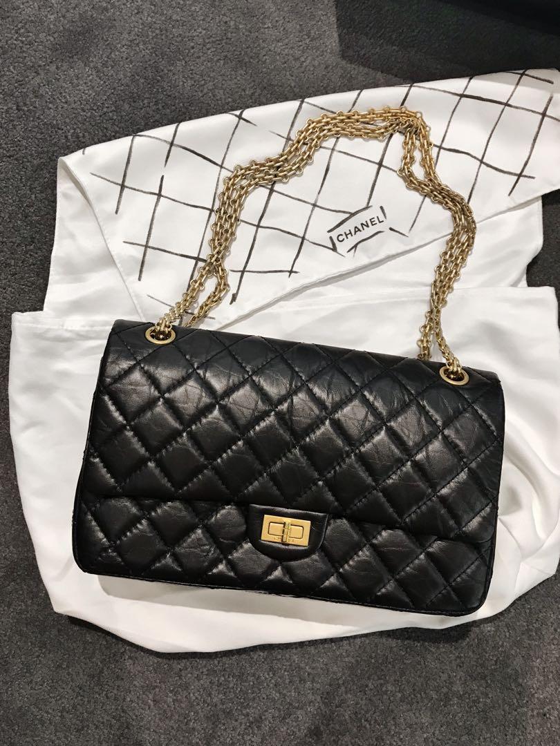 5195f4d48b6002 Chanel 255 Reissue, Luxury, Bags & Wallets, Handbags on Carousell