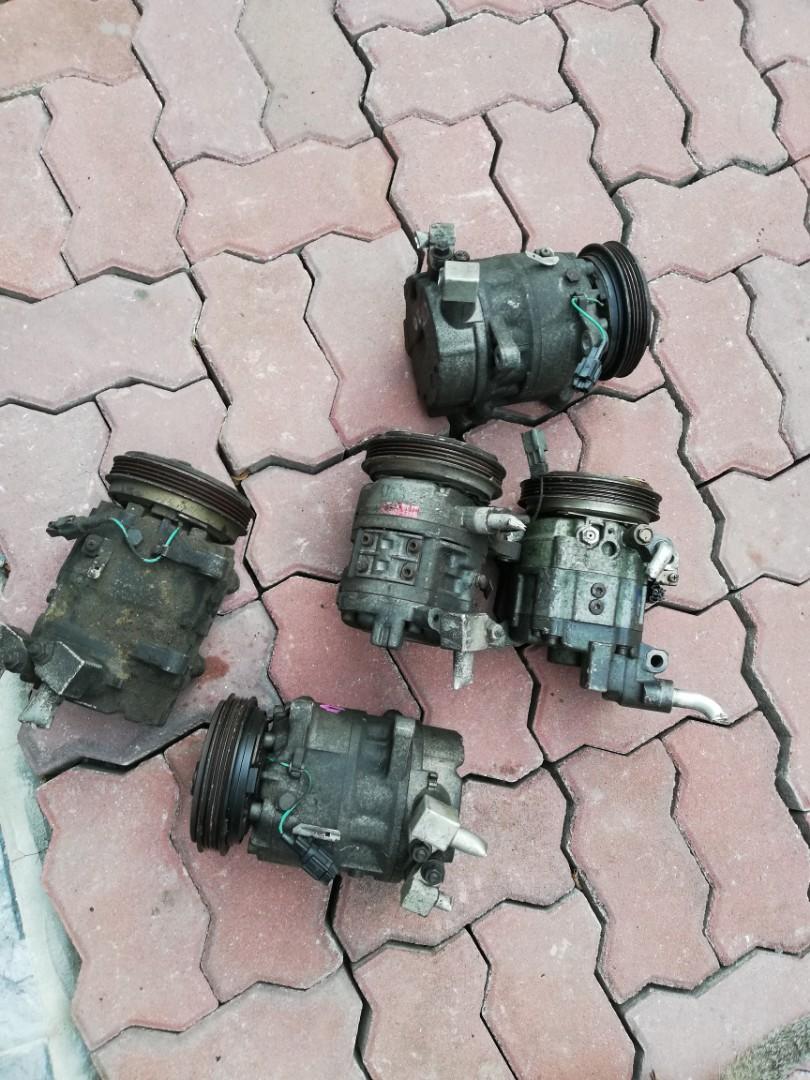 Compressor Aircond Nissan Rb25 neo Rb25det rb25neo Rb20 rb20det Rb20na A31  cefiro skyline r32 r33