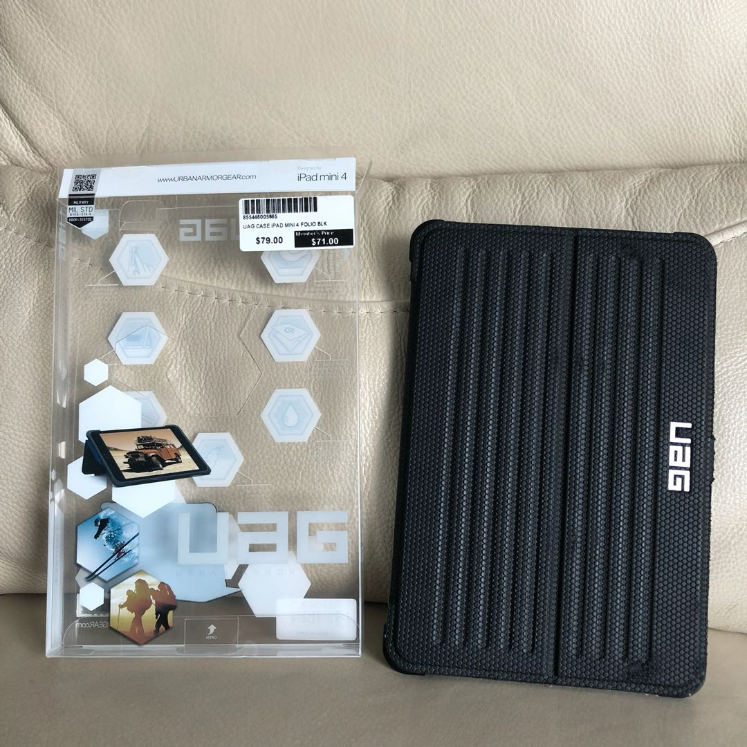 watch 514ac a65d0 Condition 7/10 UAG iPad mini 4 cover
