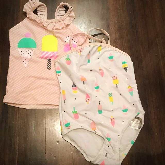 ae8db286a5022 Cotton On Girl's Swimwear Size 2 Set of 2 pieces, Babies & Kids ...