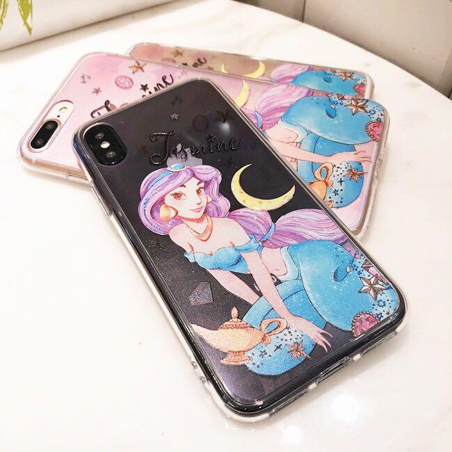 Disney princess jasmine iPhone 7 8 X case