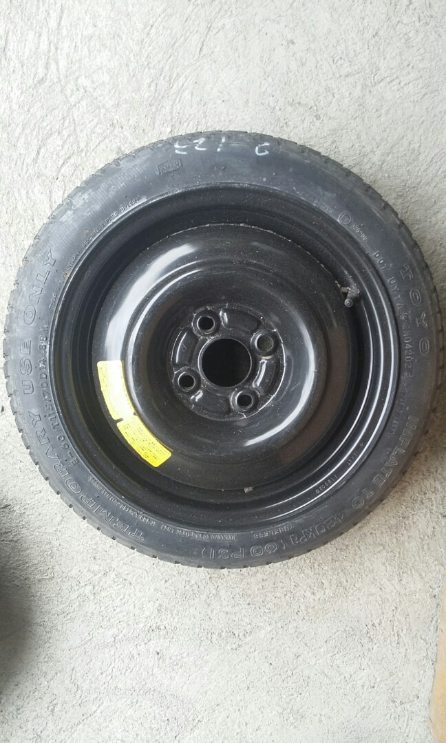 Donut Spare Tire 4 Holes 5 Holes Size 12 13 14 15 16 Car Parts