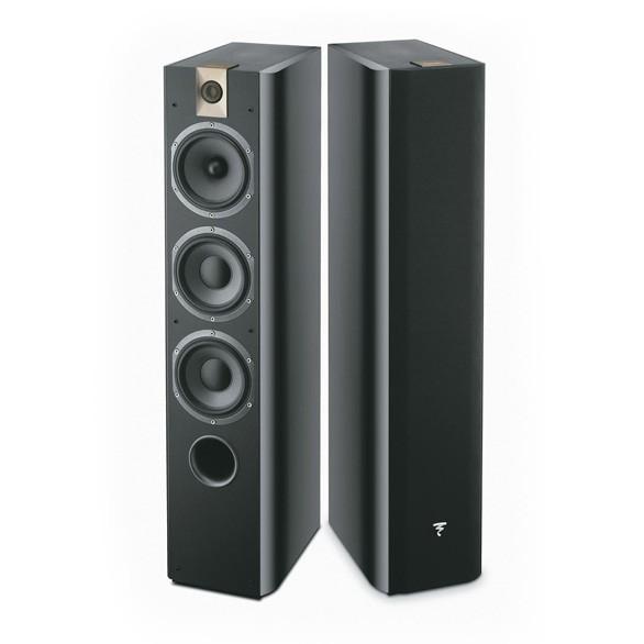 Focal chorus 726 floorstanding speakers piano black made in