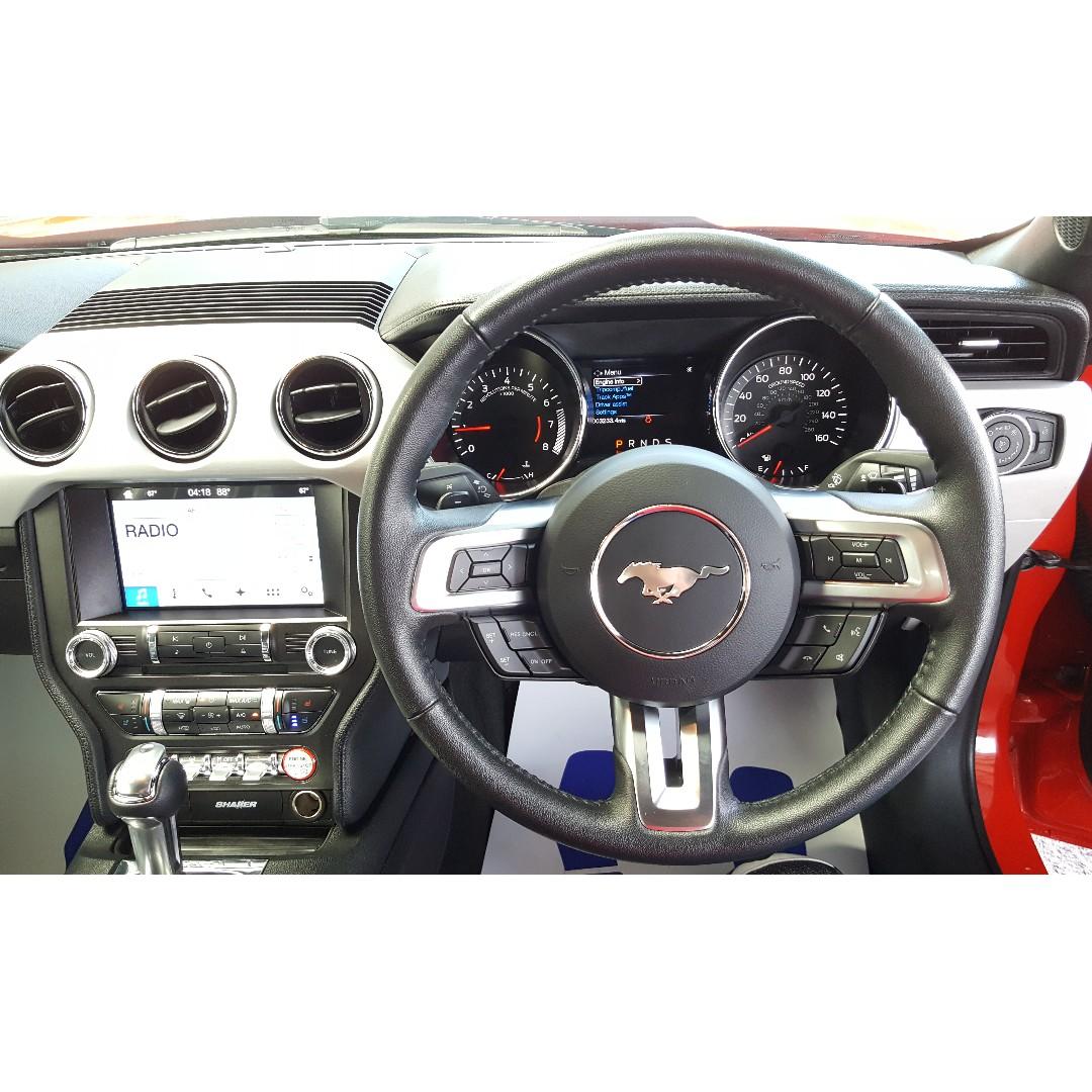 Ford mustang 2 3 ecoboost shaker audio red a offer unreg 2017 kereta kereta untuk dijual di carousell