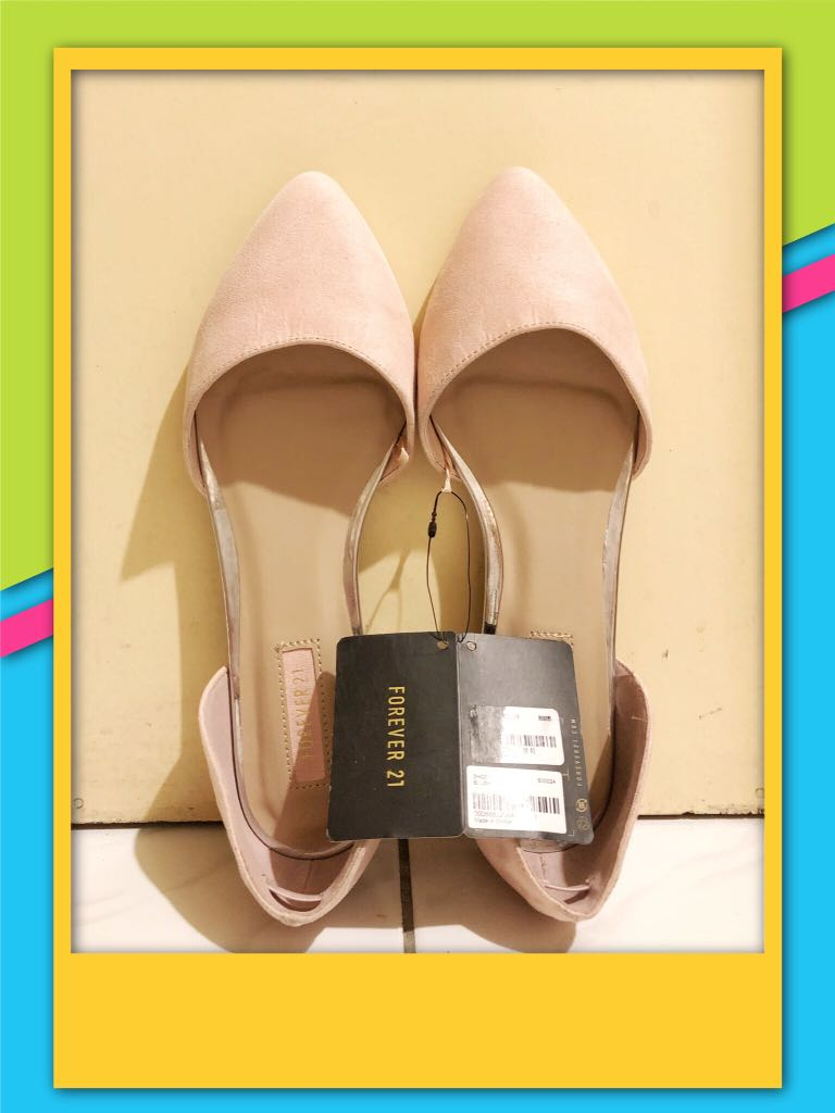 Forever 21 Baby Pink Sandals 537cc50075b7