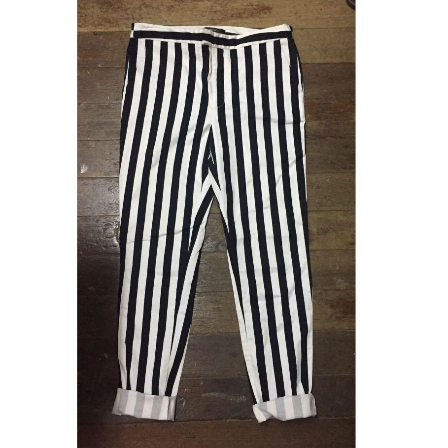 Forever 21 stripe trousers