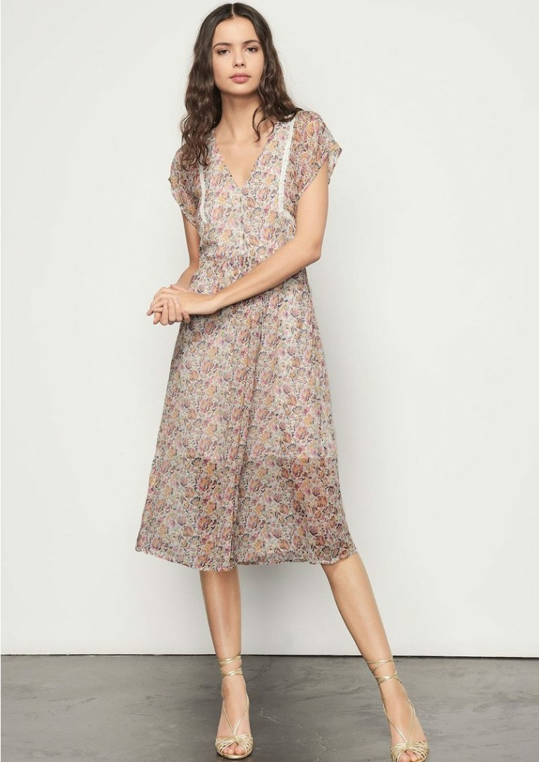 3a8488159c94 Ba sh Paris designer midi dress
