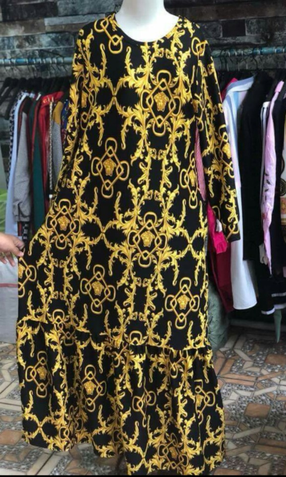 Gamis Versace Luxury Apparel On Carousell