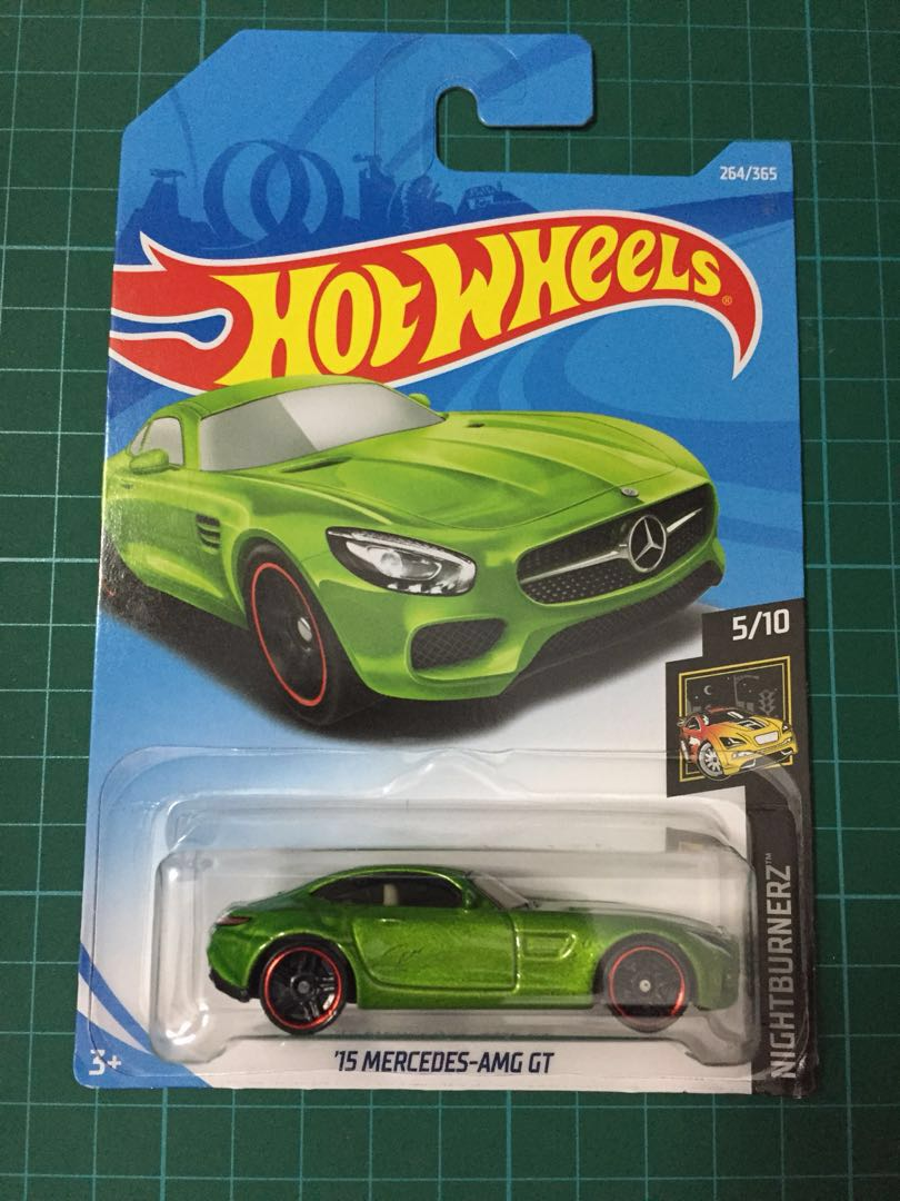 Hotwheels 15 Mercedes Amg Gt Toys Games Diecast Toy Vehicles Tomica Reguler Datsun Go Blue On Carousell