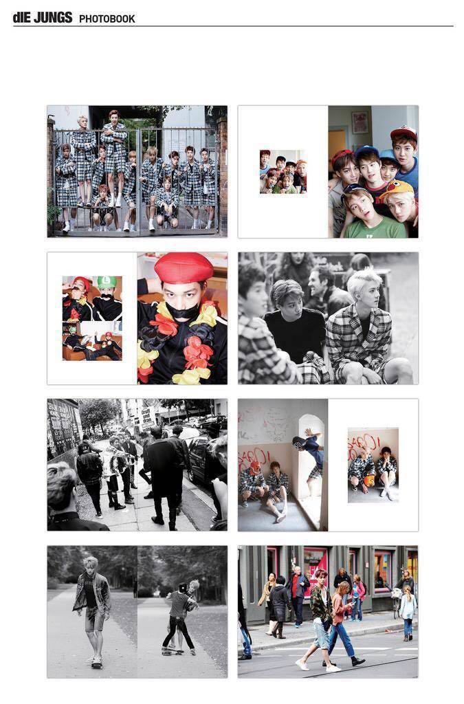 Kpop EXO Die Jungs Collectible