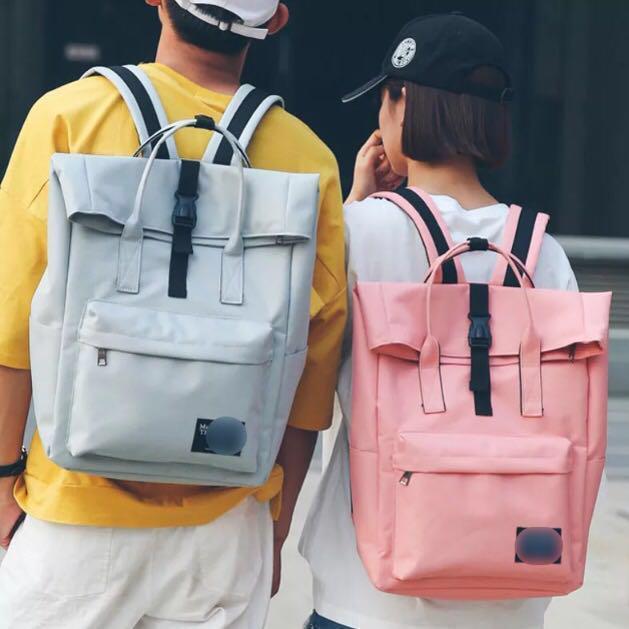 2e42c33bf85 Large Backpack Korean Canvas back pack couples bag big bagpack ...