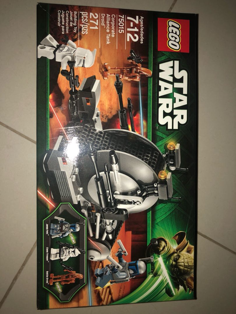 Lego Star Wars 75015 Corporate Alliance Tank Droid Toys Games