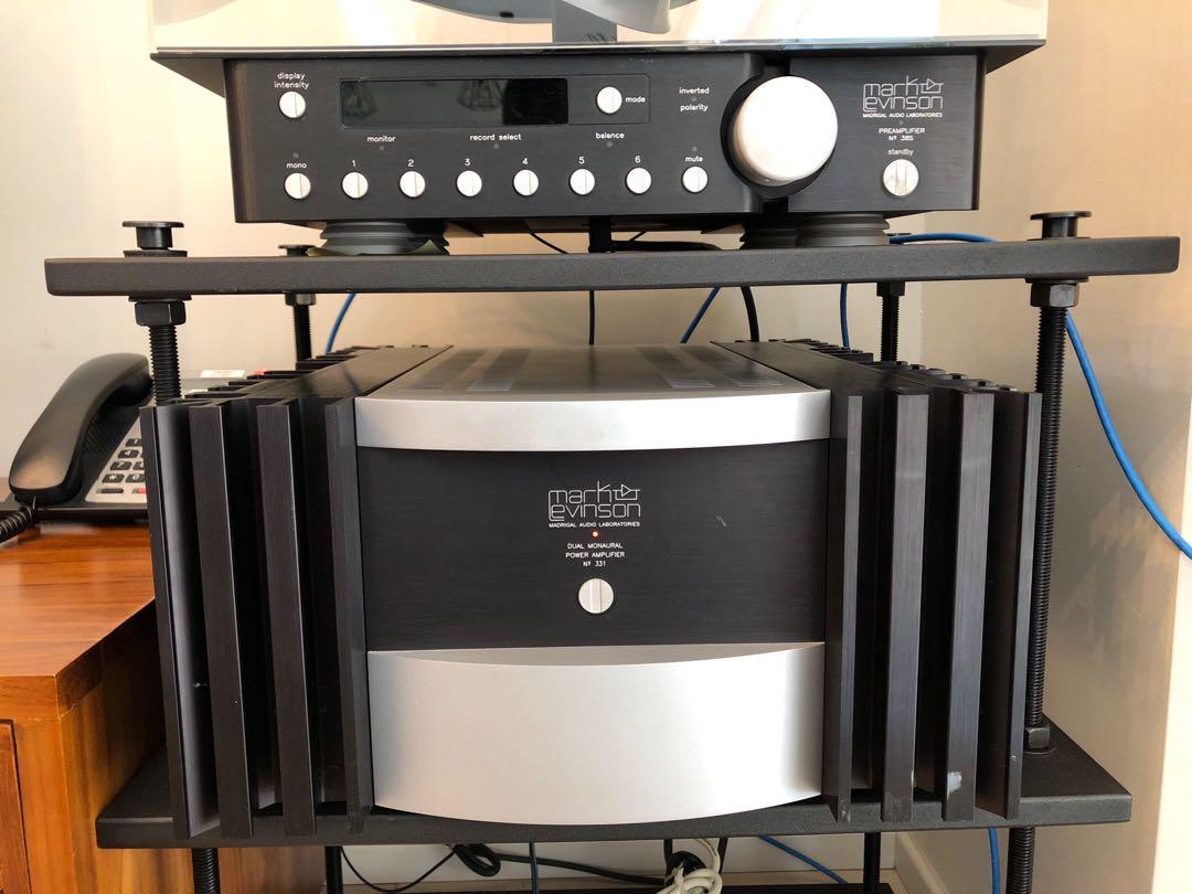 Mark Levinson 331 amp and 38S pre-amp, Electronics, Audio on