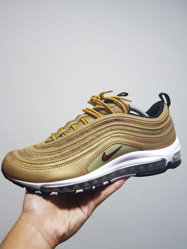 zawsze popularny butik wyprzedażowy sklep Nike Air Max 97 Gold