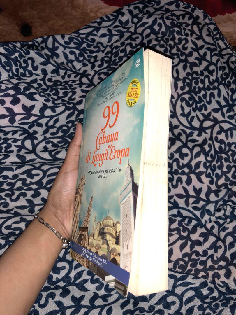 novel 99 cahaya dilangit eropa