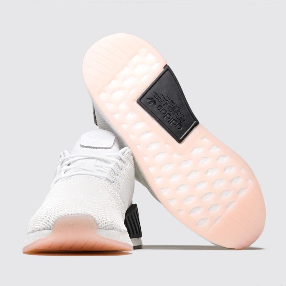 798358fed69 (PO) Adidas Womens NMD R2 Crystal White