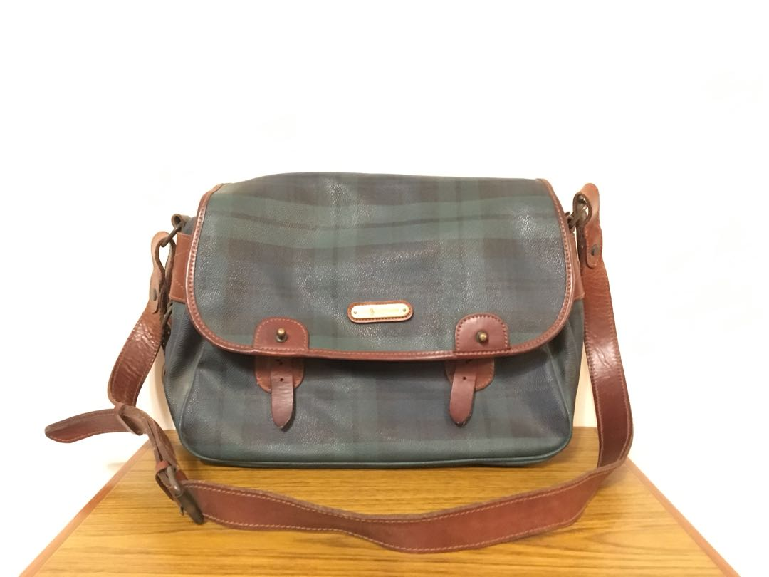 1aee687c73 Polo Ralph Lauren Classic Green Bag 經典綠色斜孭袋