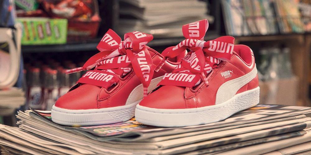 huge selection of d1560 5323e Puma basket heart Cara Delevingne