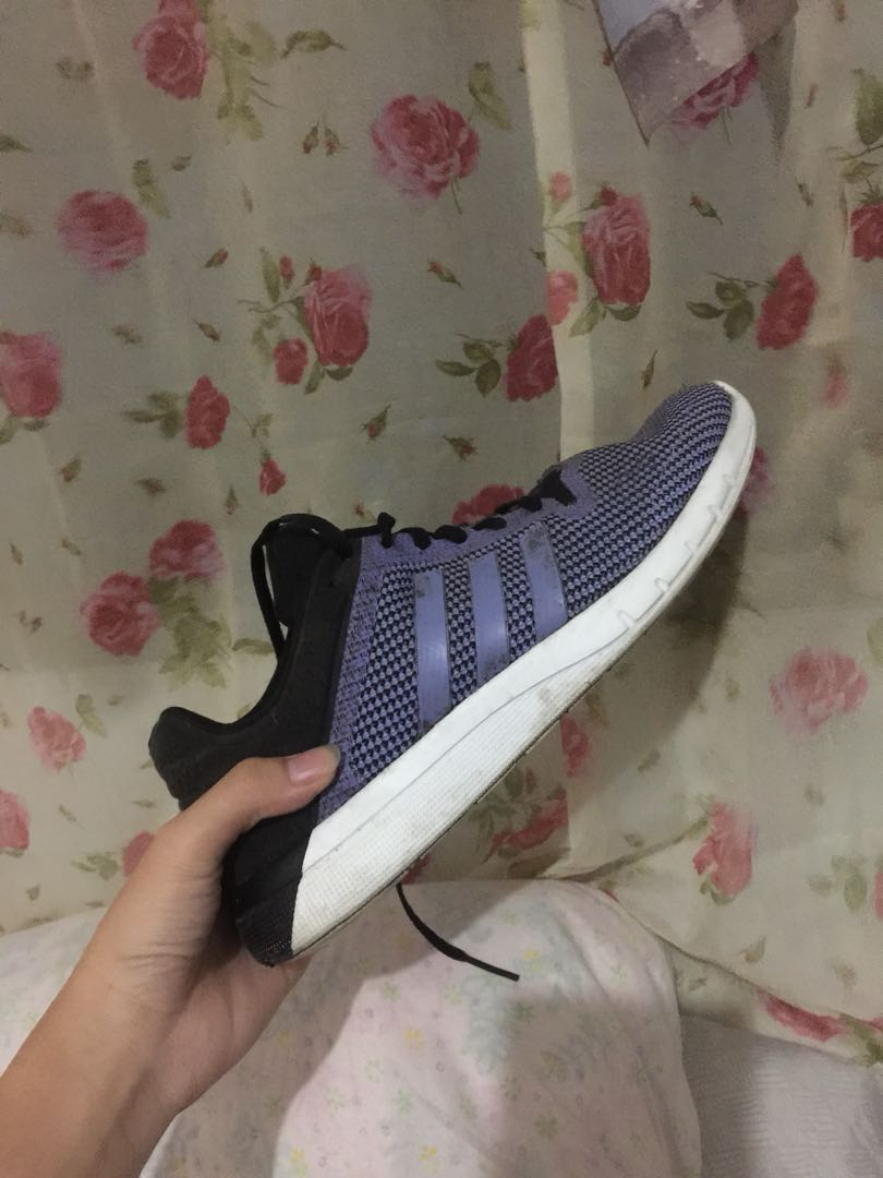 09ded910566e PURPLE ADIDAS RUNNING SHOES