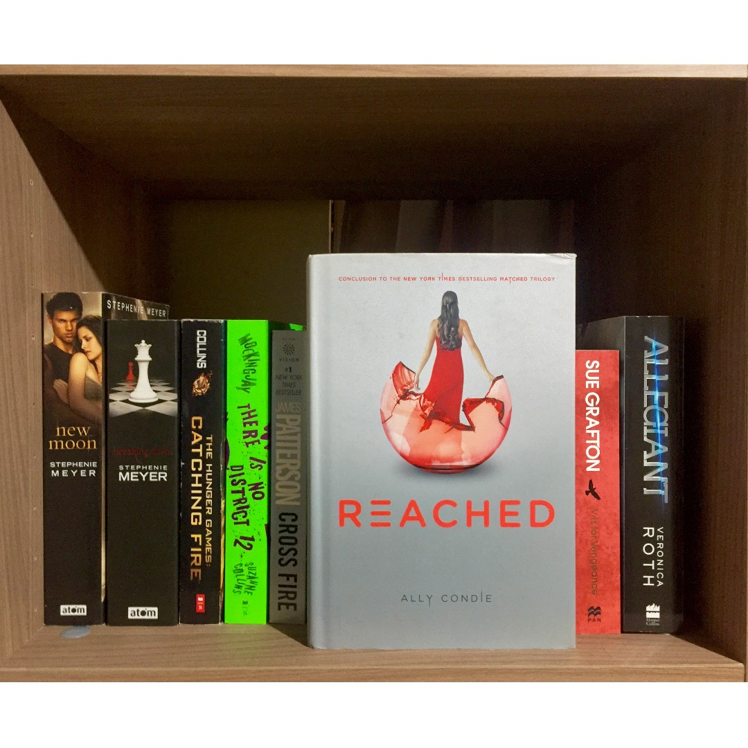 Reached matched trilogy novel by ally condie books books on carousell fandeluxe Gallery