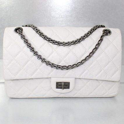 02126ba1f9d8 SALES!! Chanel Off-white Reissue'226, Luxury, Bags & Wallets ...