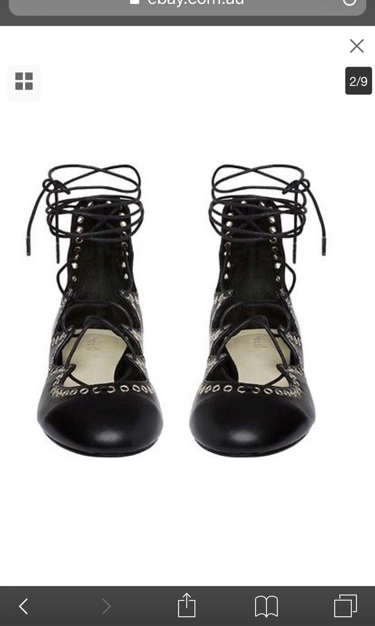 Seed Black Scarlett Lace Up shows