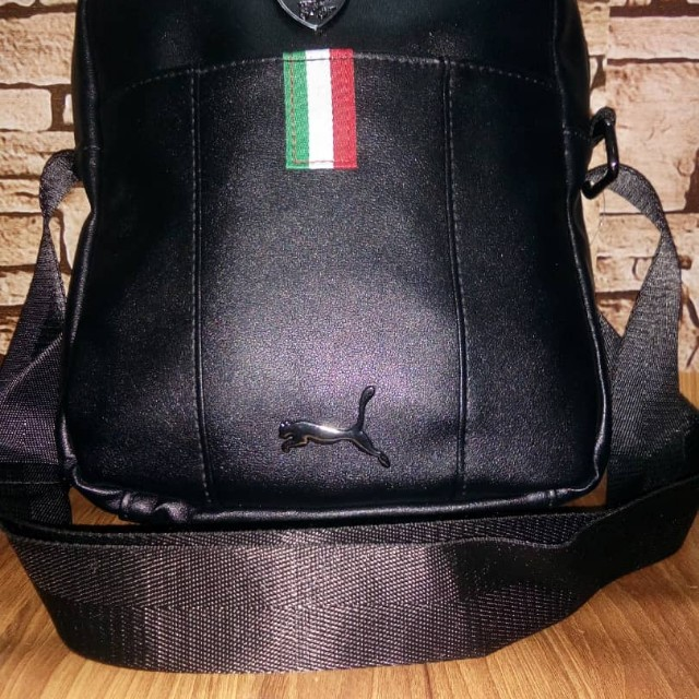 d9833c8f01e SLING BAG PUMA FERRARI 🏎 COLOUR   BLACK 🇮🇪 PRICE   RM60 COD AREA   KLANG    SHAH ALAM   PUCHONG   USJ SUBANG http   www.wasap.my 601121126748