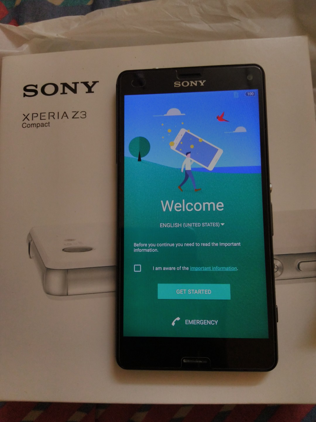 Sony Xperia Z3 Compact Mobile Phones Tablets Android Lcd Fullset Original Putih On Carousell