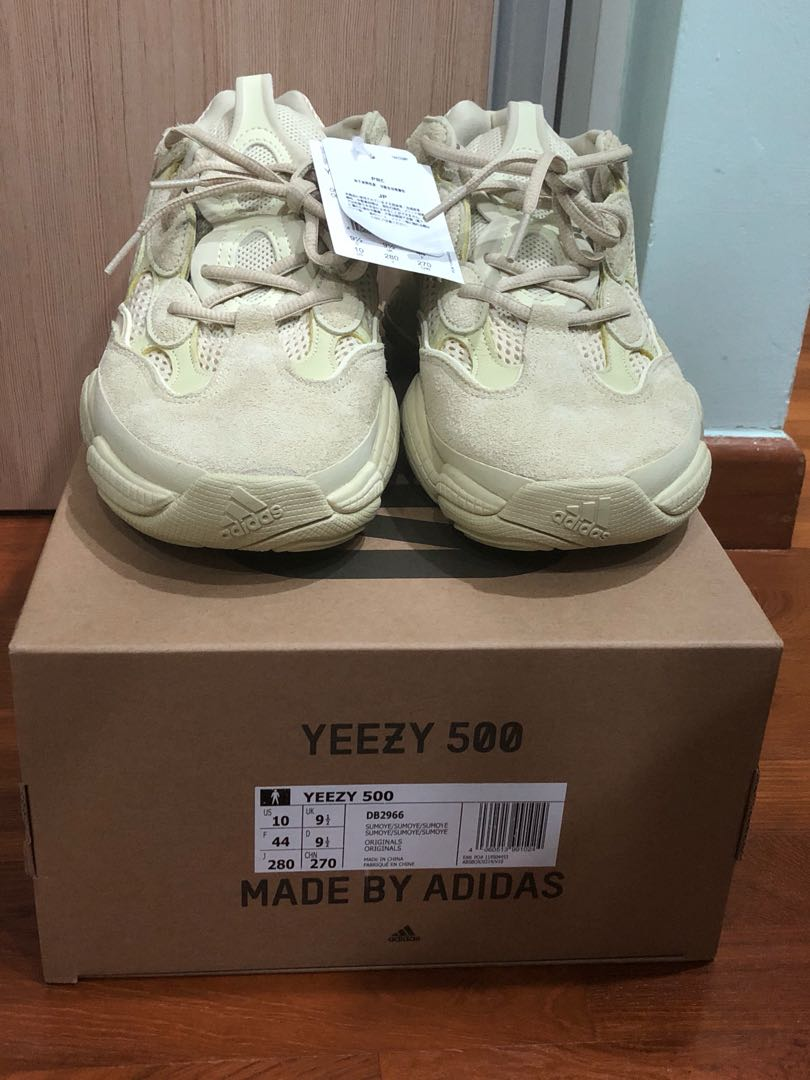 027bb3dc557 STEAL adidas Yeezy 500 Super Moon Yellow