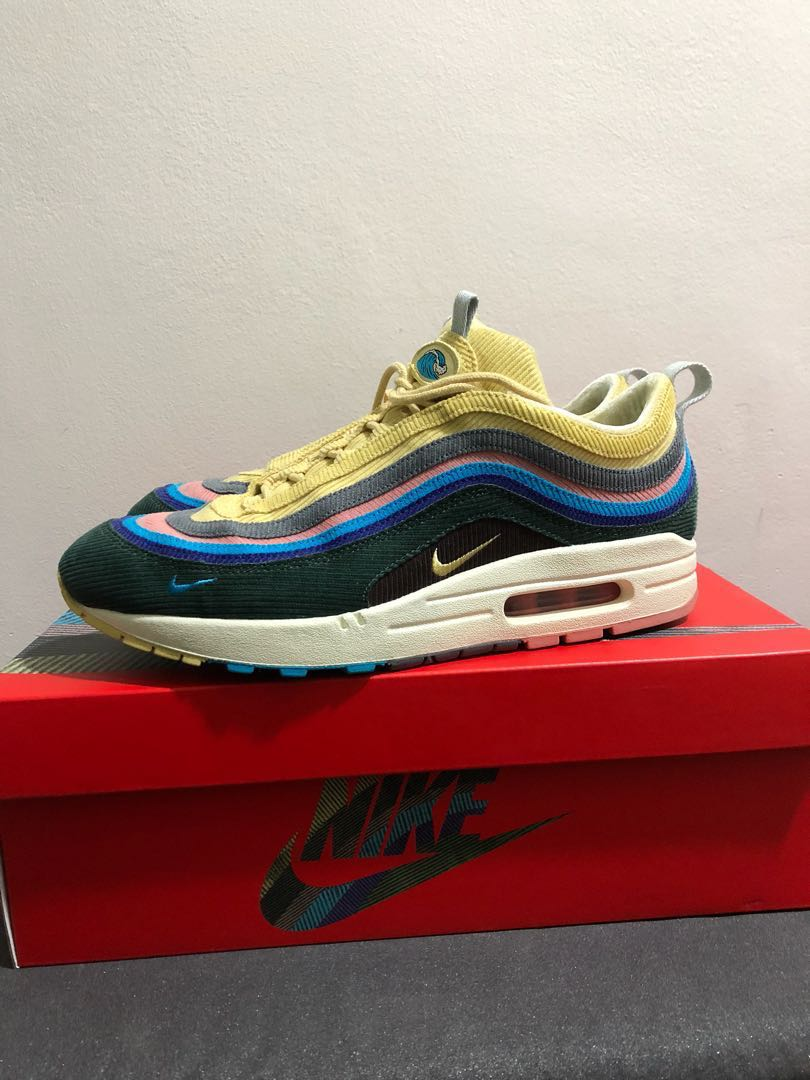 7bbe8de3f72 USED  Nike Air Max 1 97 Wotherspoon US10