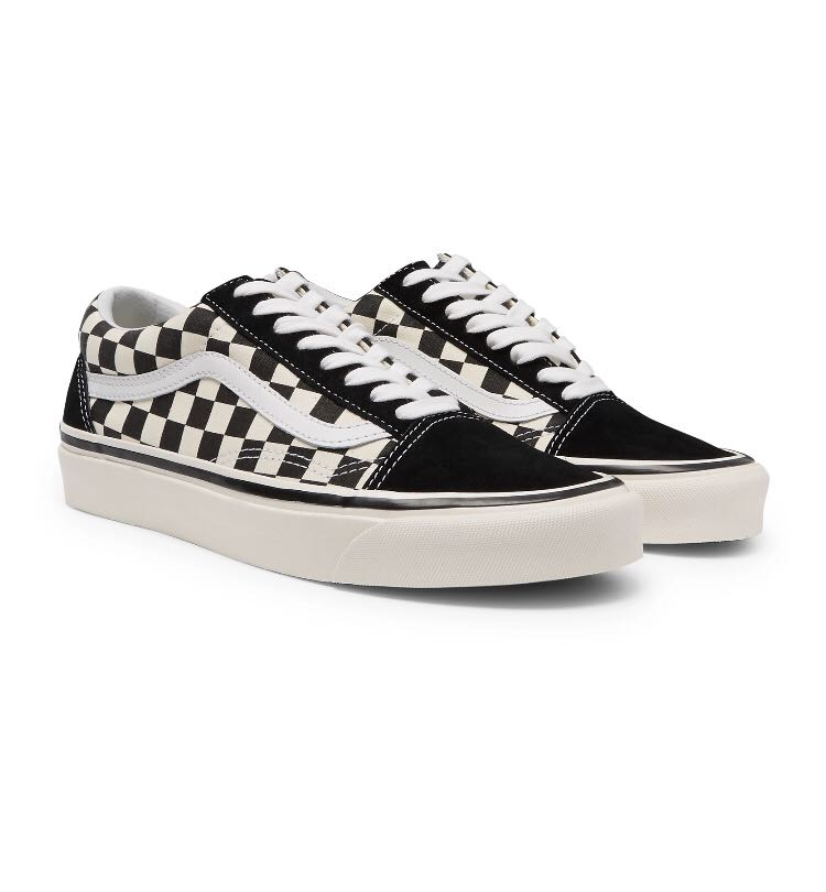 afe5c1fcb4da8f Vans Anaheim Factory Old Skool 36 DX Checkerboard (Black white ...