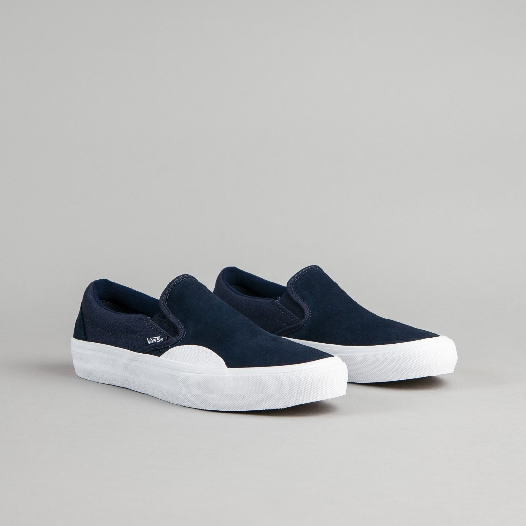 d3d4e3dc9f1 Vans Slip On Pro Rubber Dress Blue Navy US7-US9
