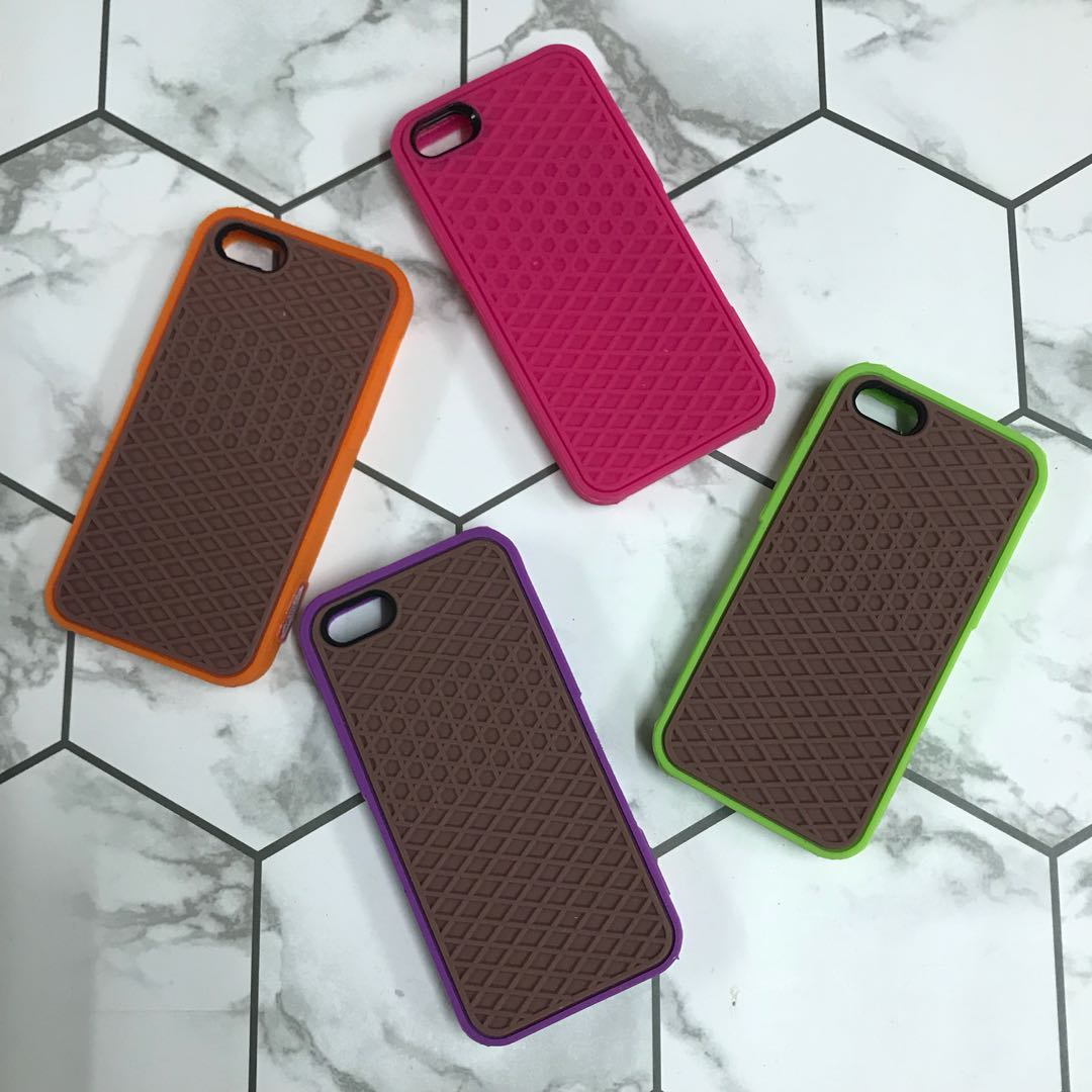 online store 81308 c5bef Vans waffle silicon case iPhone 5/5S/SE