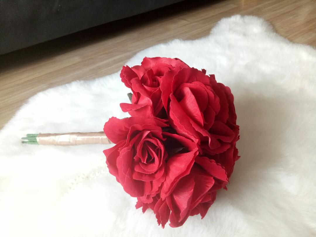 Velvet rose Hand Bouquet 0a59979f37