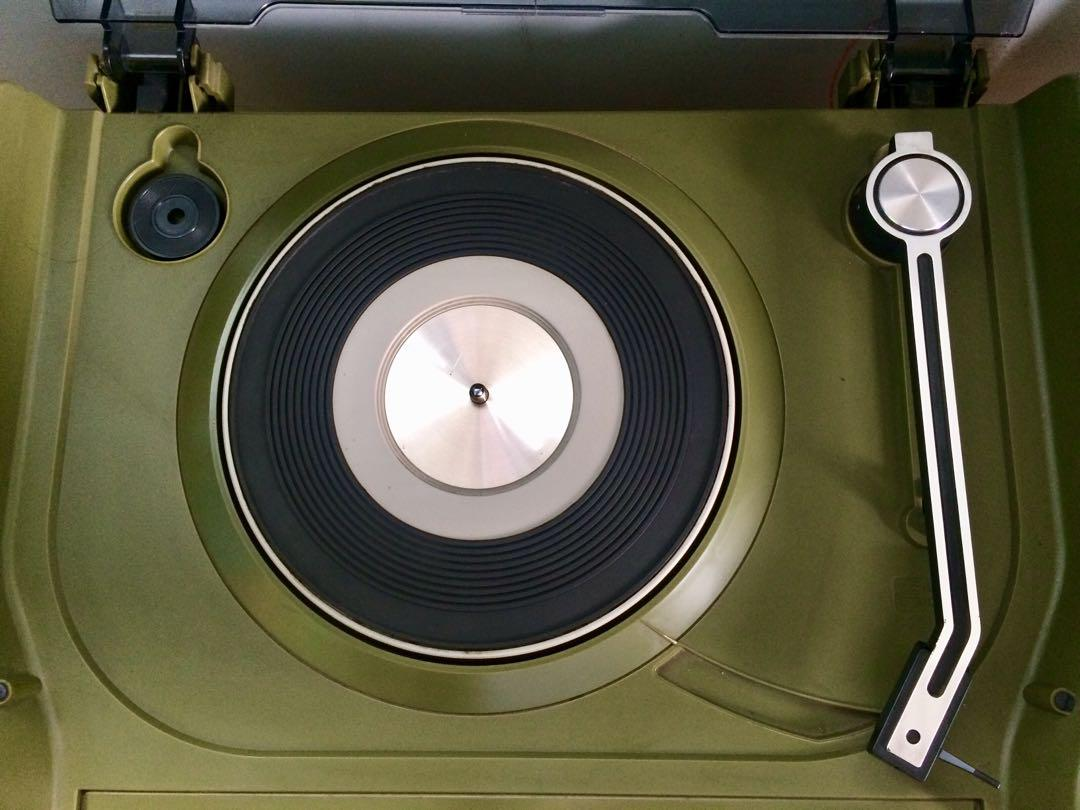 Vintage  National Vinyl Turntable