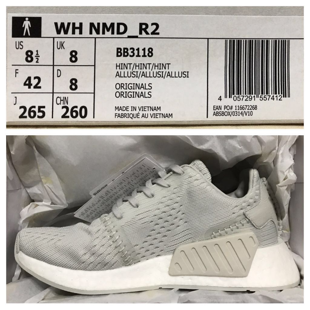 7a9601358ed30 Wings+Horns x Adidas NMD R2 PK