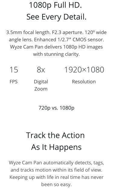 Wyze Cam Pan, Photography, Cameras, Digital Cameras on Carousell